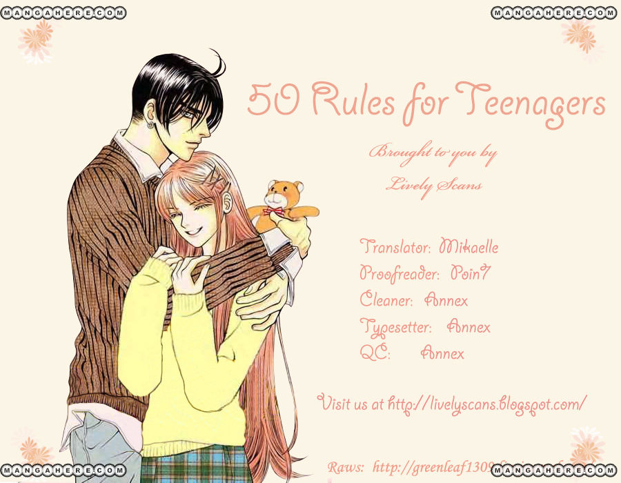 50 Rules for Teenagers 25 Page 1