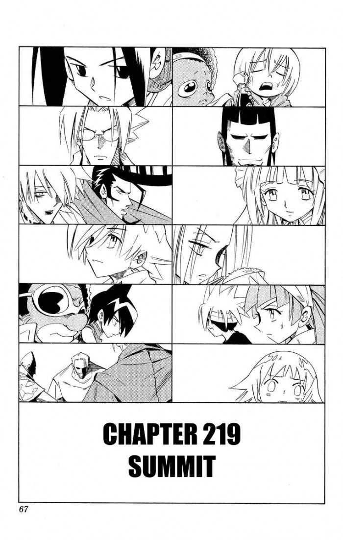 Shaman King 219 Page 3