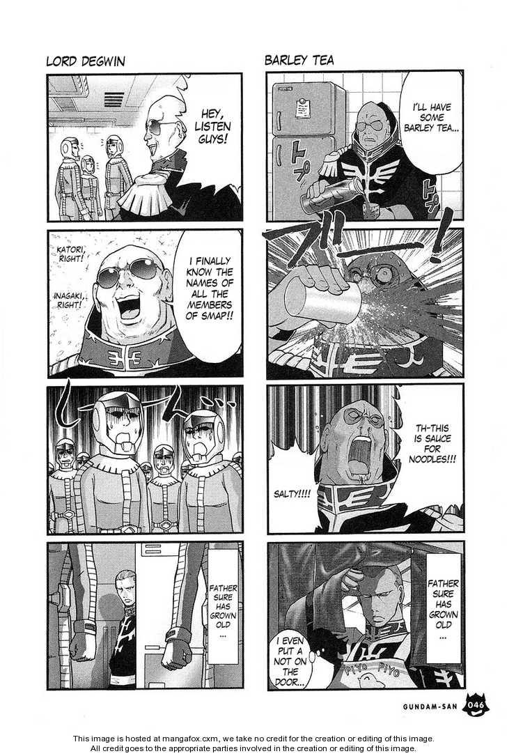 Kidou Senshi Gundam-san 0.2 Page 1