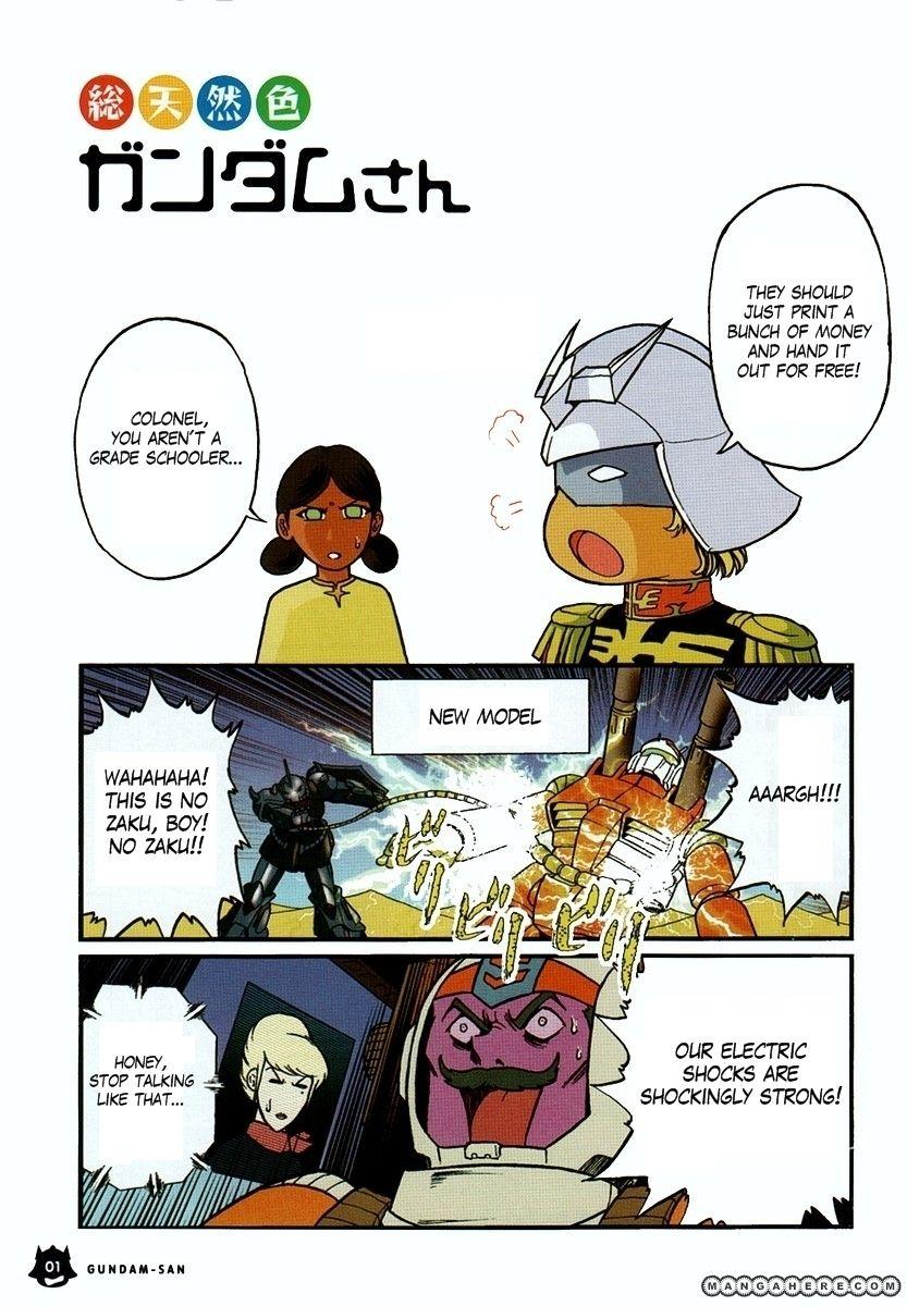 Kidou Senshi Gundam-san 1 Page 2