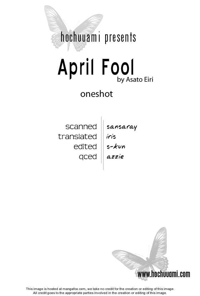 April Fool 0 Page 1