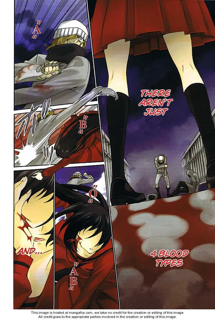 Blood Type V 1 Page 2