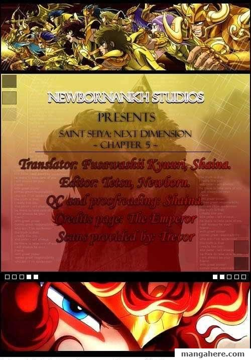 Saint Seiya - Next Dimension 5 Page 1