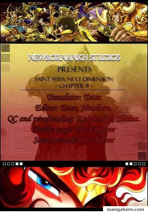 Saint Seiya - Next Dimension 8 Page 1