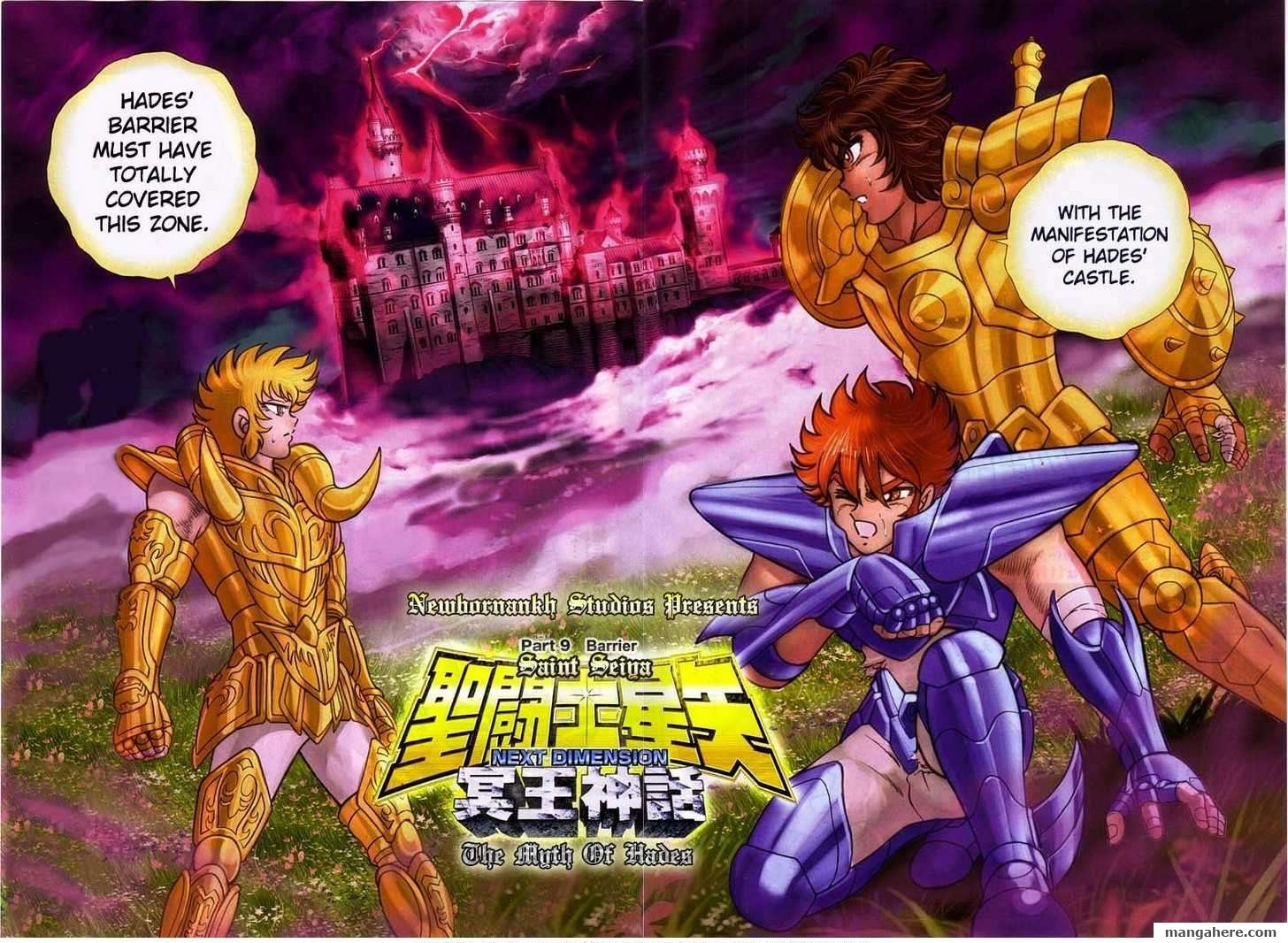 Saint Seiya - Next Dimension 9 Page 3