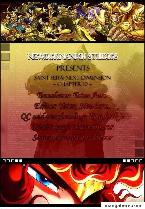 Saint Seiya - Next Dimension 10 Page 1