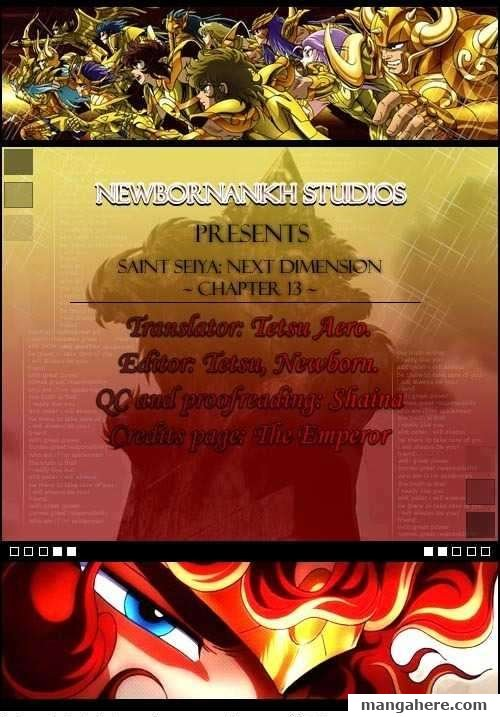 Saint Seiya - Next Dimension 13 Page 1