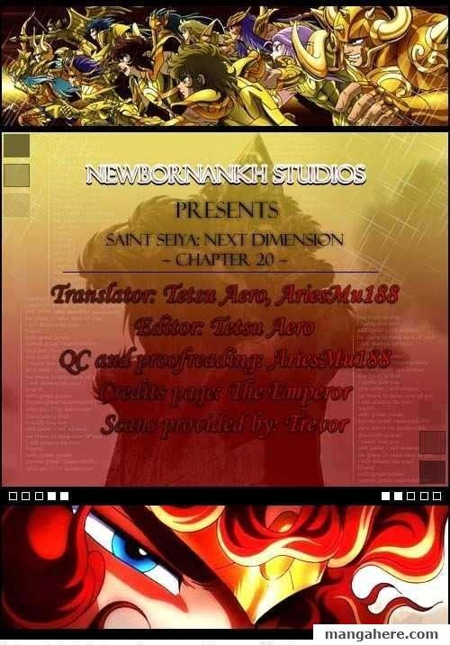Saint Seiya - Next Dimension 20 Page 1