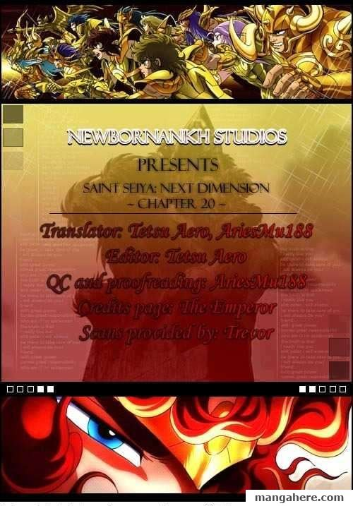 Saint Seiya - Next Dimension 20 Page 1