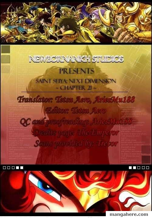 Saint Seiya - Next Dimension 21 Page 1