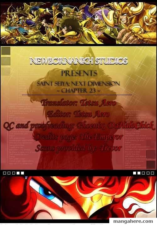 Saint Seiya - Next Dimension 23 Page 1