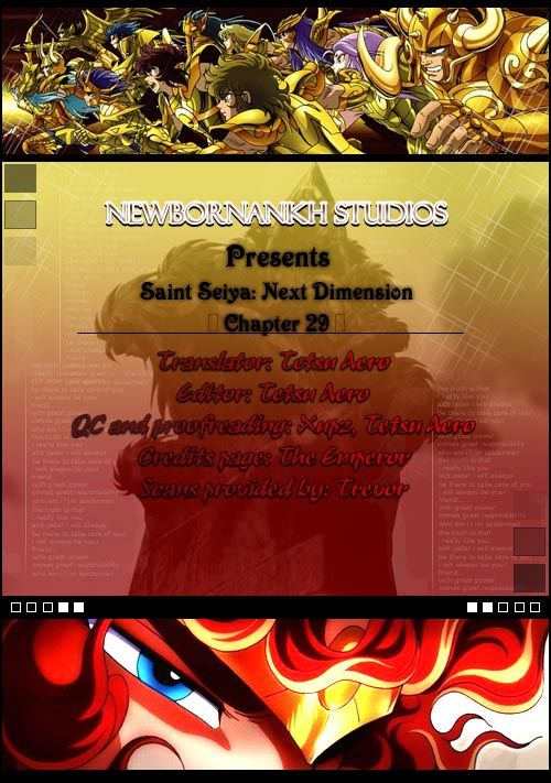 Saint Seiya - Next Dimension 29 Page 1