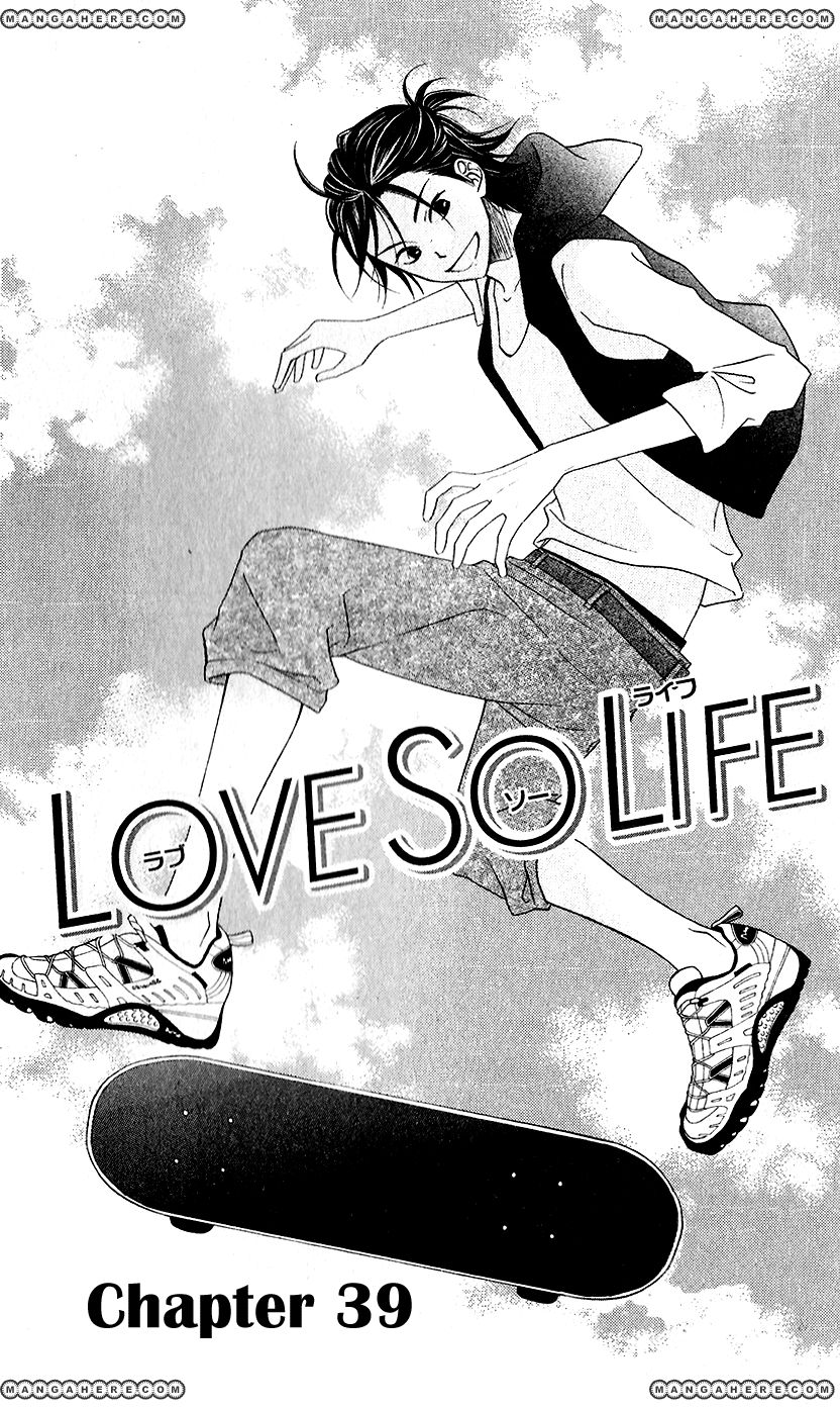 Love So Life 39 Page 1