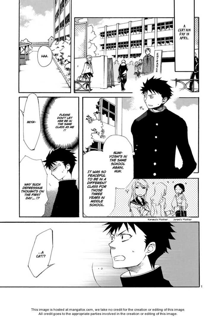 Nyankoi! 5 Page 1