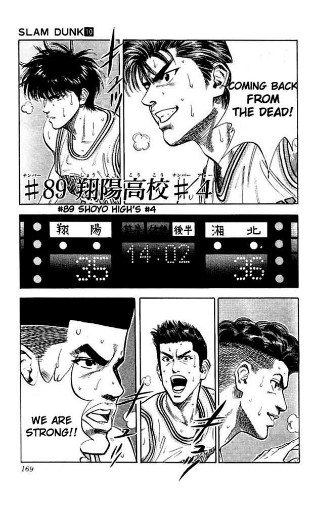 Slam Dunk 89 Page 1