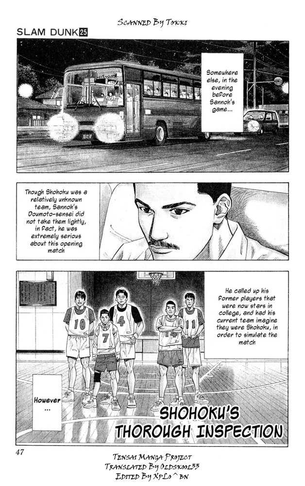 Slam Dunk 218 Page 1