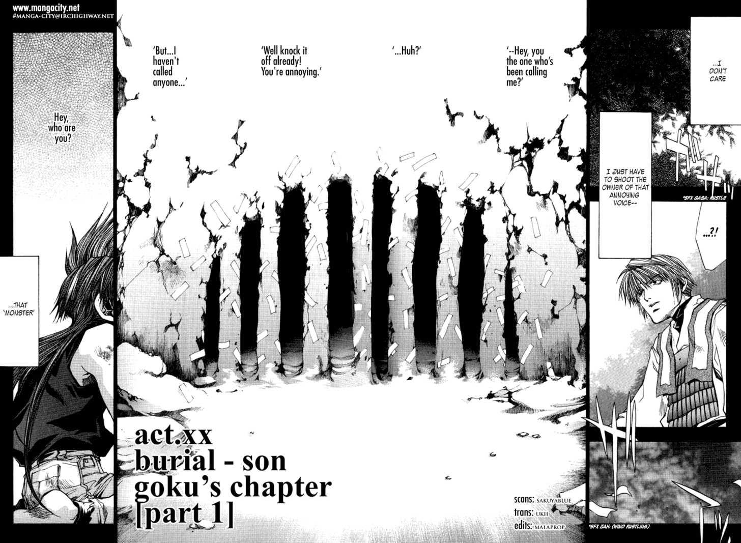 Saiyuki Reload 0.4 Page 2