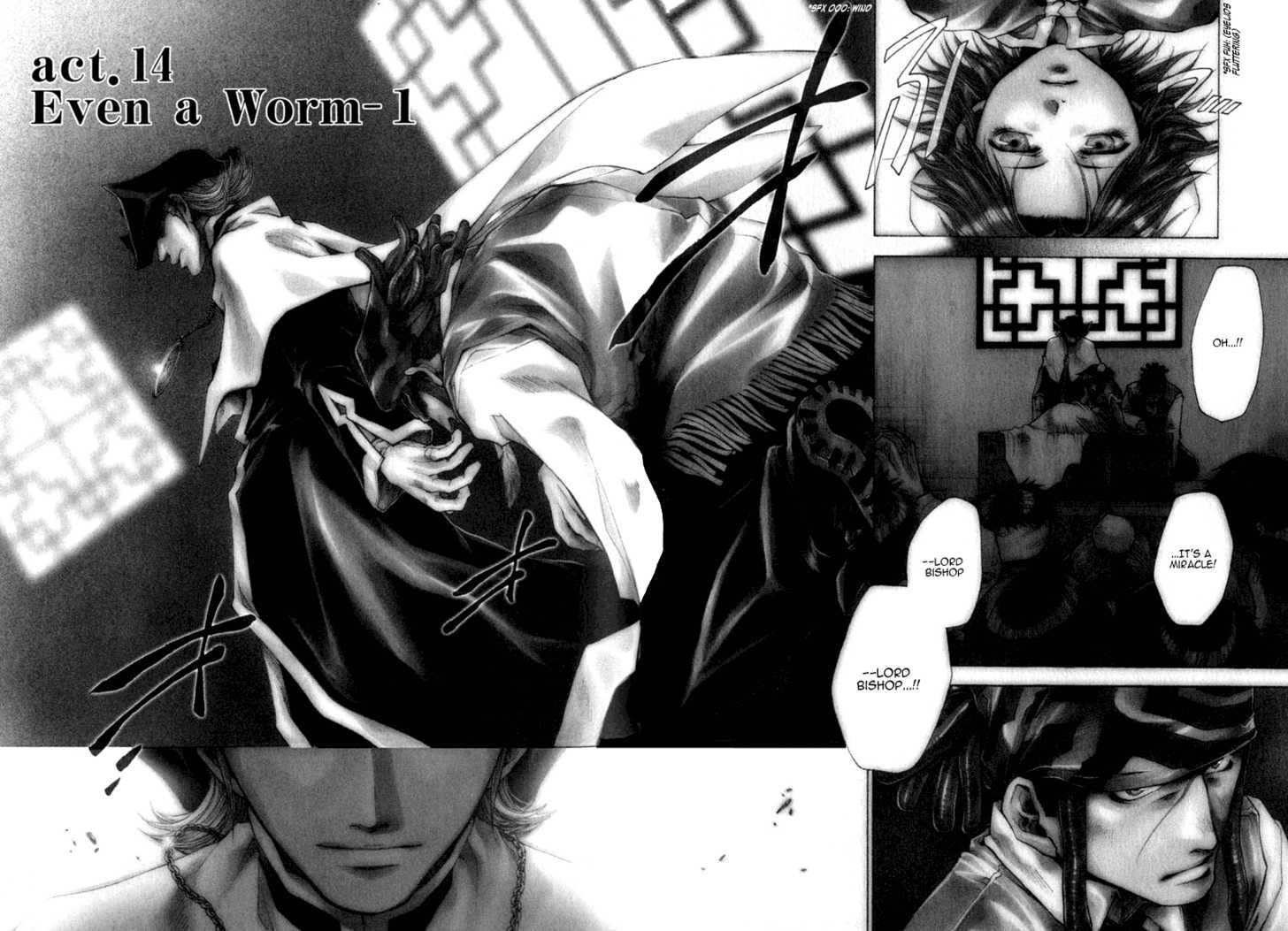 Saiyuki Reload 14 Page 2
