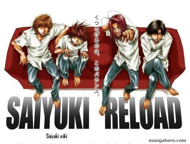 Saiyuki Reload 46 Page 1