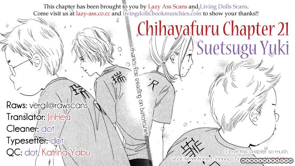 Chihayafuru 21 Page 3