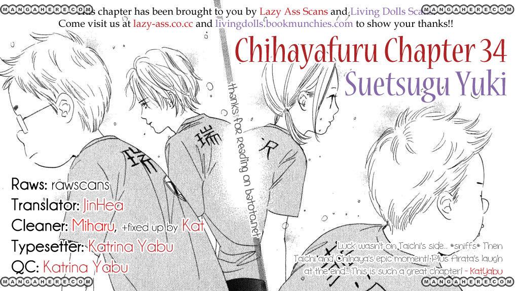 Chihayafuru 34 Page 1