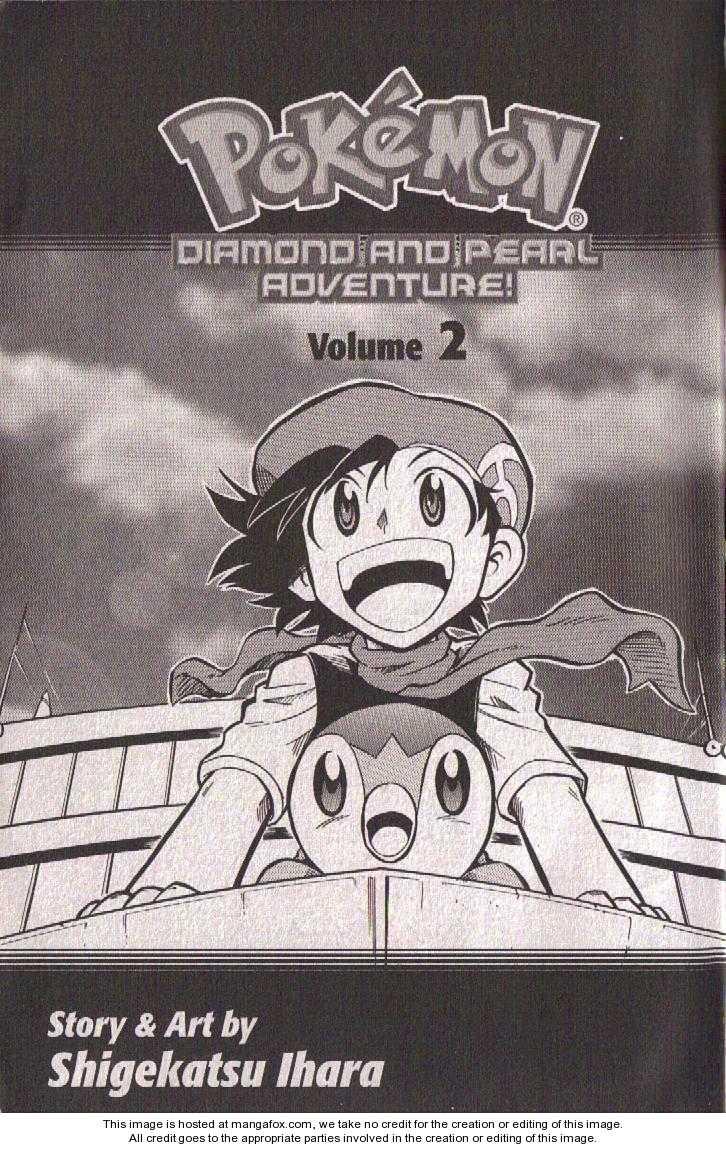 Pokémon DP 4 Page 1