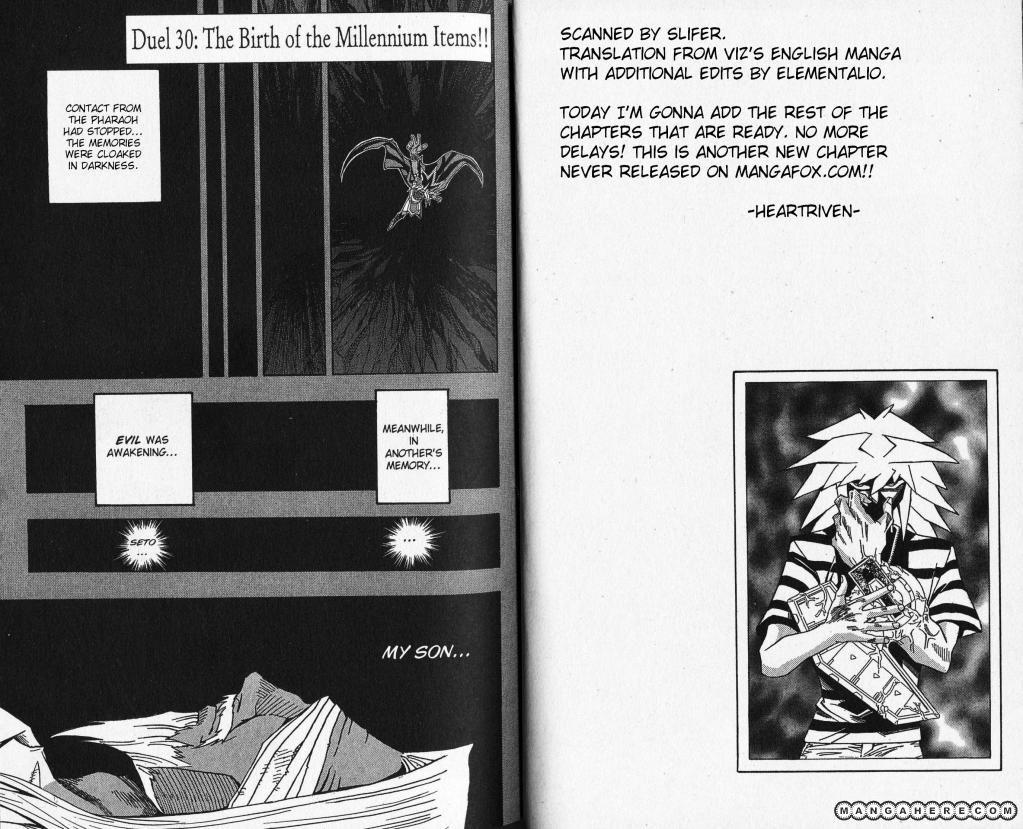 Yu-Gi-Oh! Millennium World 30 Page 1