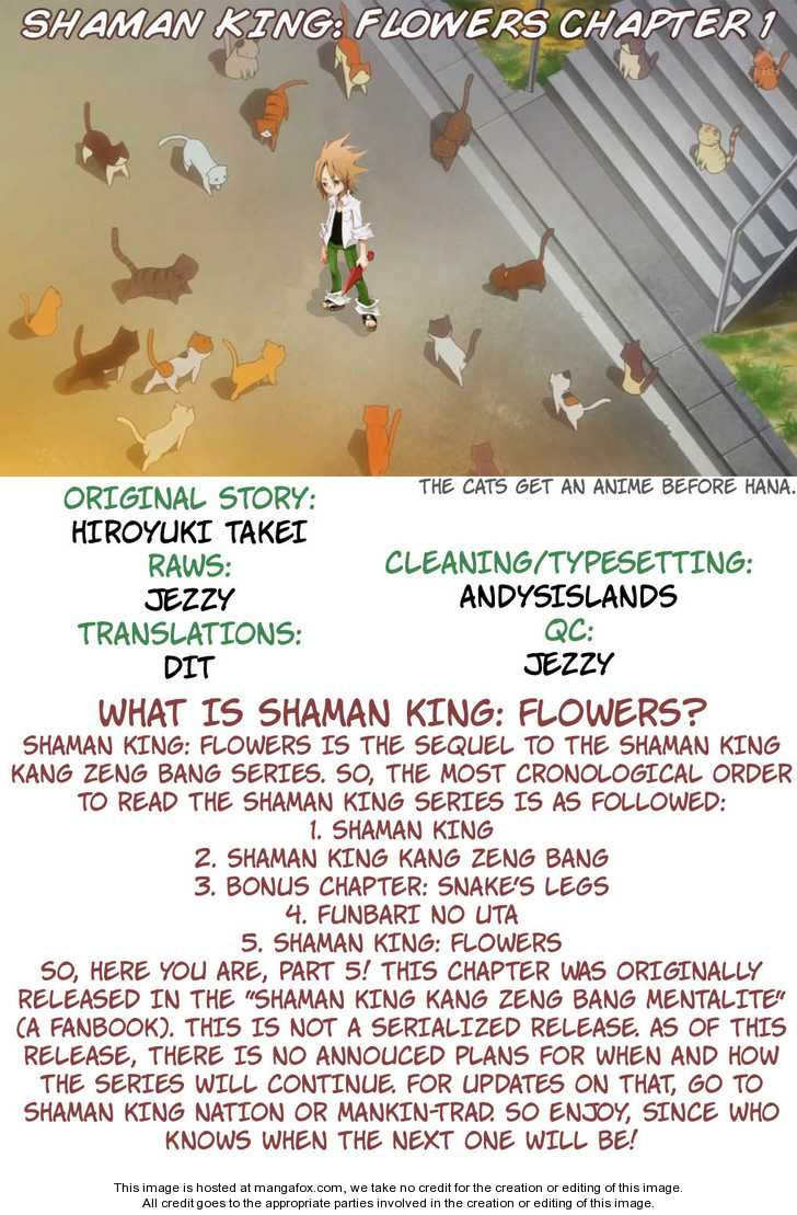 Shaman King Flowers 0 Page 1