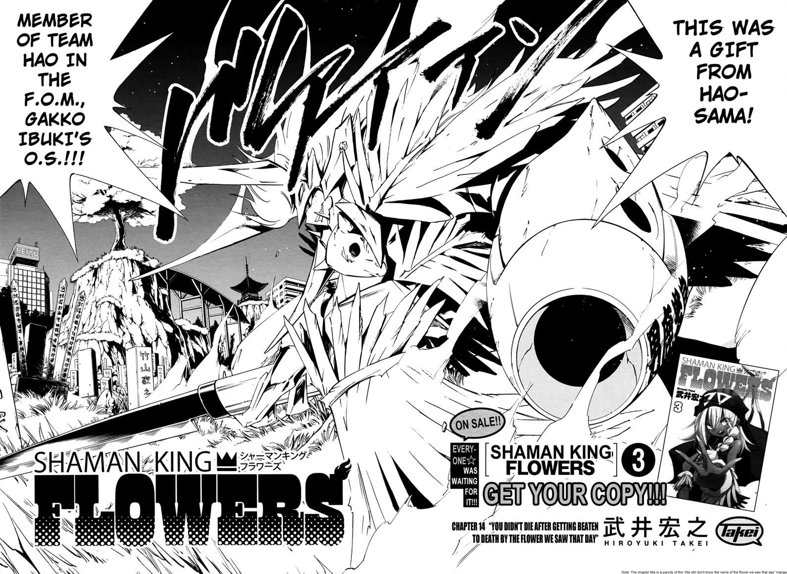 Shaman King Flowers 14 Page 2