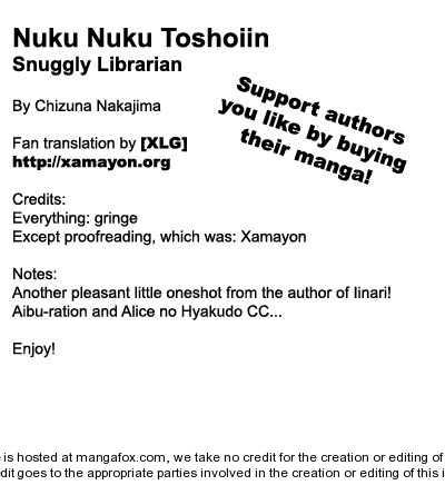Nuku Nuku Toshoiin 1 Page 1