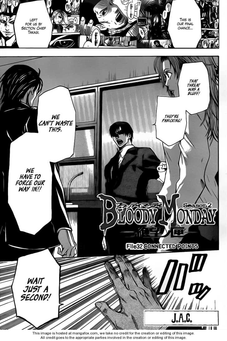 Bloody Monday Season 2 32 Page 1