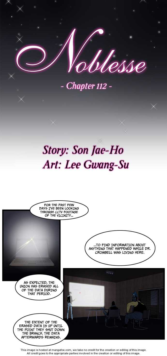 Noblesse 112 Page 1