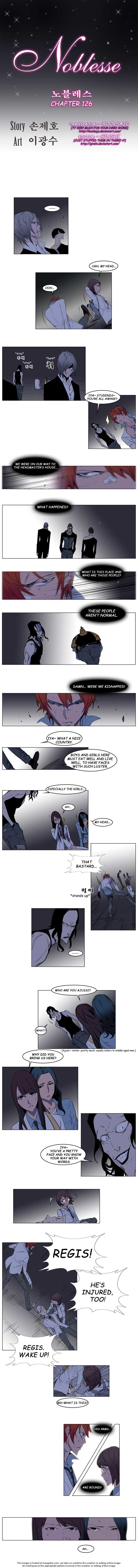 Noblesse 126 Page 1