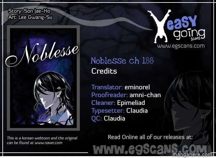 Noblesse 188 Page 1