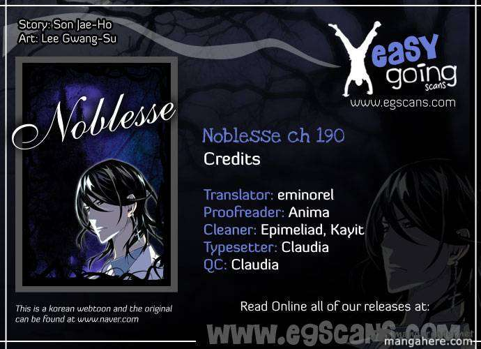 Noblesse 190 Page 1