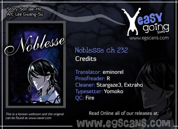 Noblesse 232 Page 1