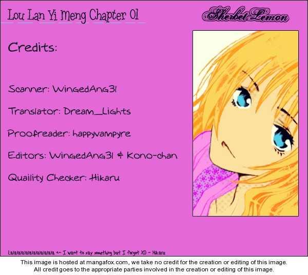 Loulan Yi Meng 1 Page 1