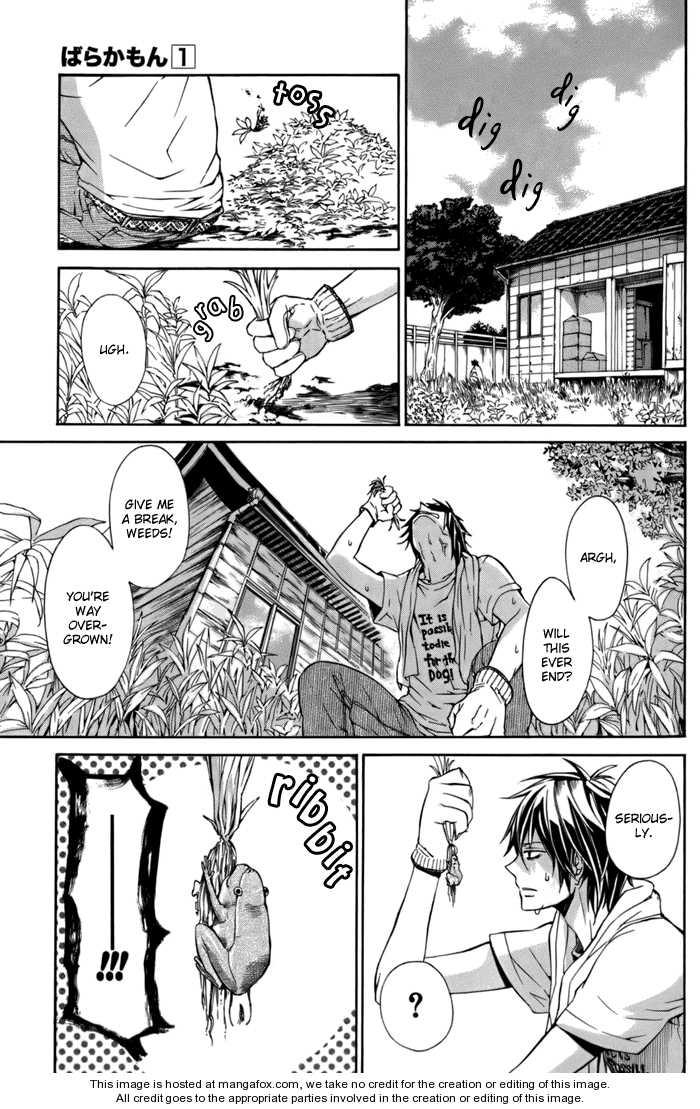 Barakamon 3 Page 3