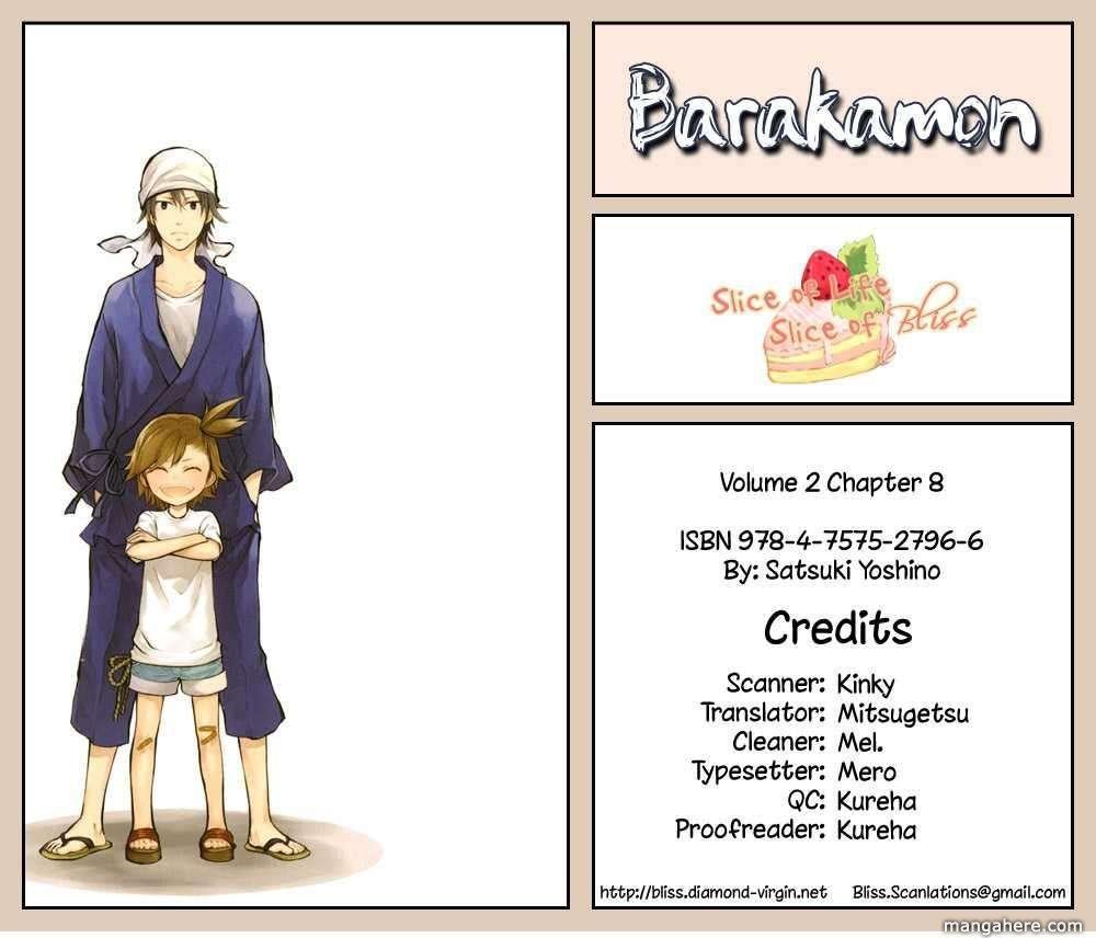 Barakamon 8 Page 1