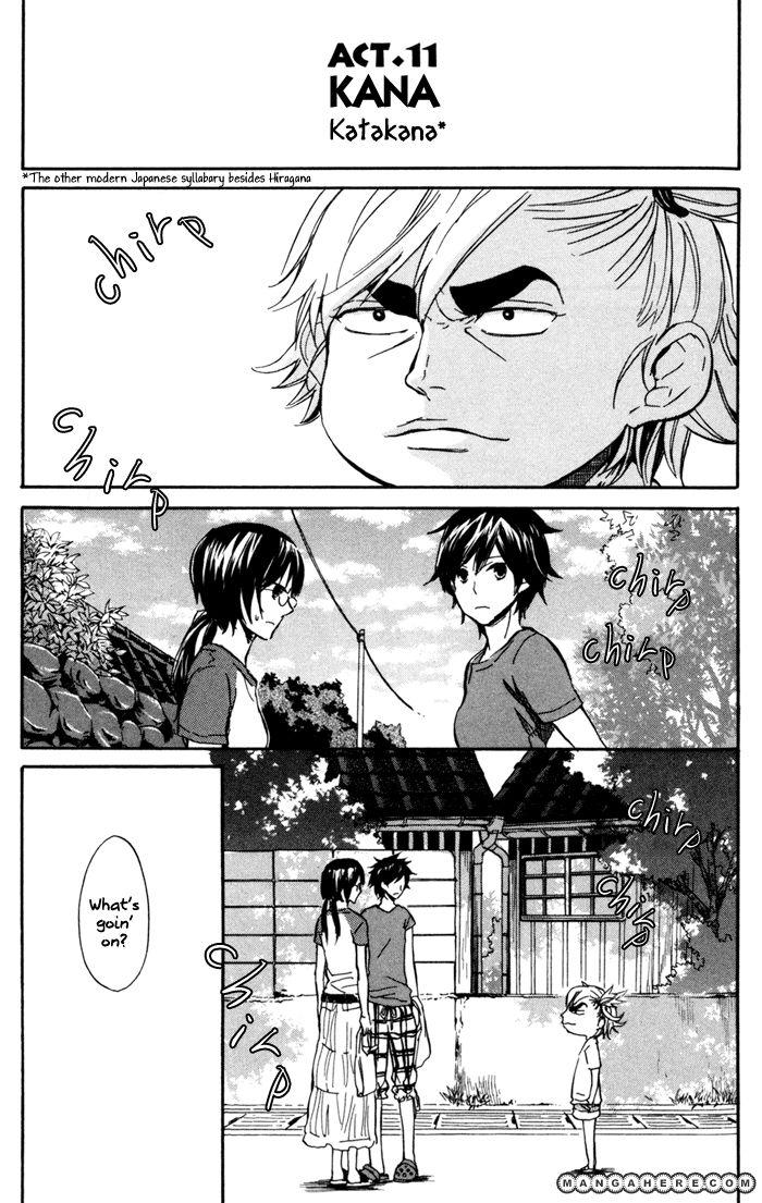 Barakamon 11 Page 2