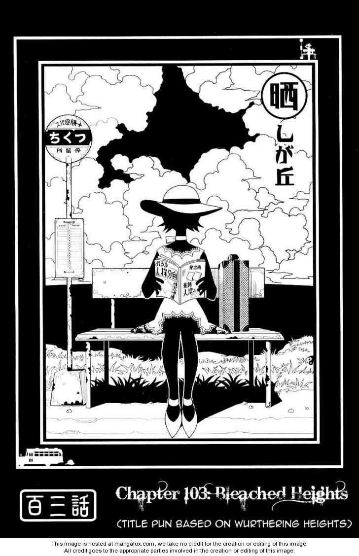 Sayonara Zetsubou Sensei 103 Page 1