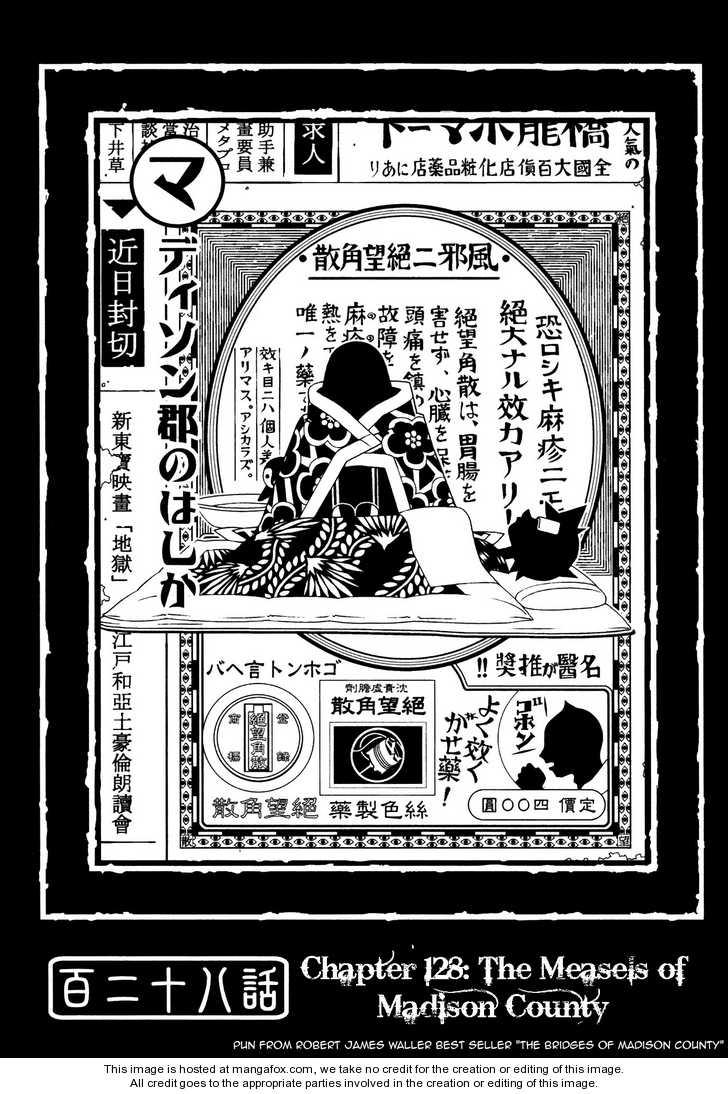 Sayonara Zetsubou Sensei 128 Page 1