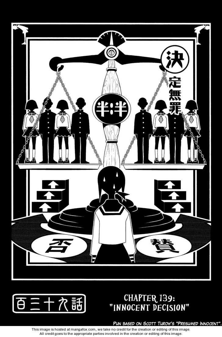 Sayonara Zetsubou Sensei 139 Page 1