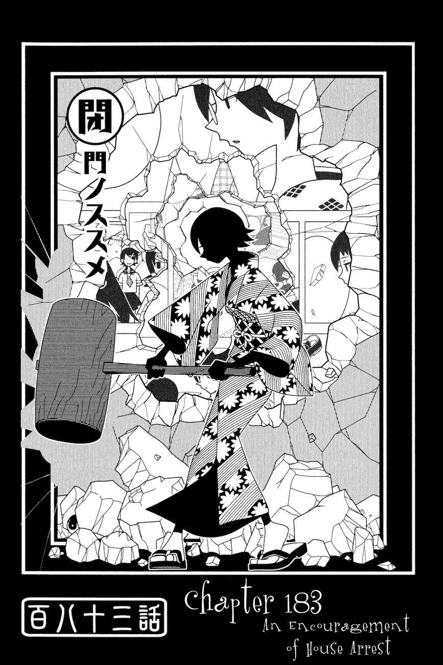 Sayonara Zetsubou Sensei 183 Page 1