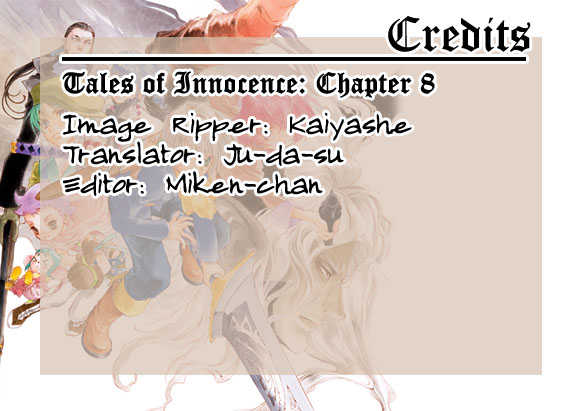 Tales of Innocence 8 Page 1