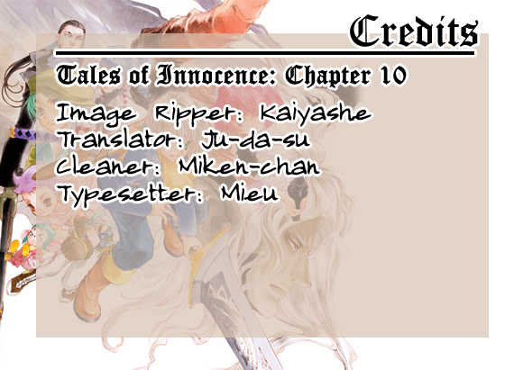 Tales of Innocence 10 Page 1