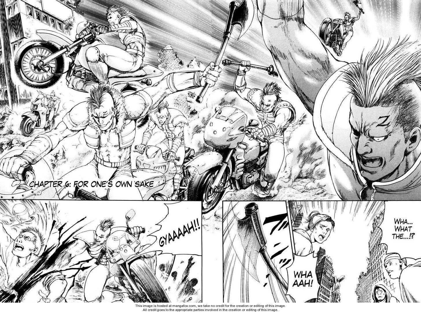 Shirogane no Seija - Hokuto no Ken Toki Gaiden 6 Page 2