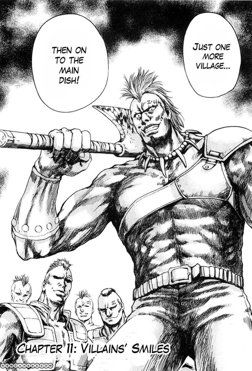 Shirogane no Seija - Hokuto no Ken Toki Gaiden 11 Page 2