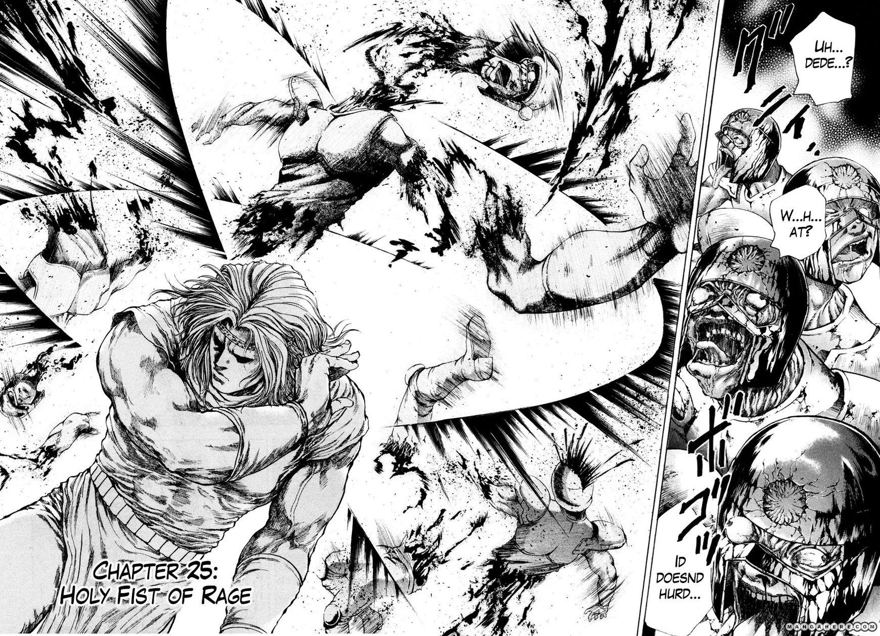 Shirogane no Seija - Hokuto no Ken Toki Gaiden 25 Page 3