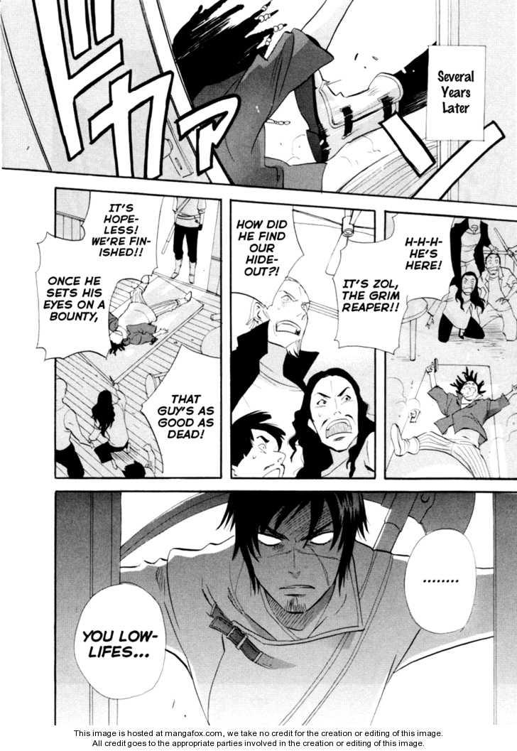 Touhou Shinigami: Meteor Methuselah Gaiden 10 Page 1
